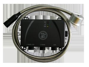 Интерфейс. контроль расхода топлива.  УЗИ 0.8- бесконтактный ультразвуковой датчик уровня топлива в бензобаке.