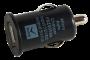Адаптер автомобильный АЗУ-USB, 1000 mA